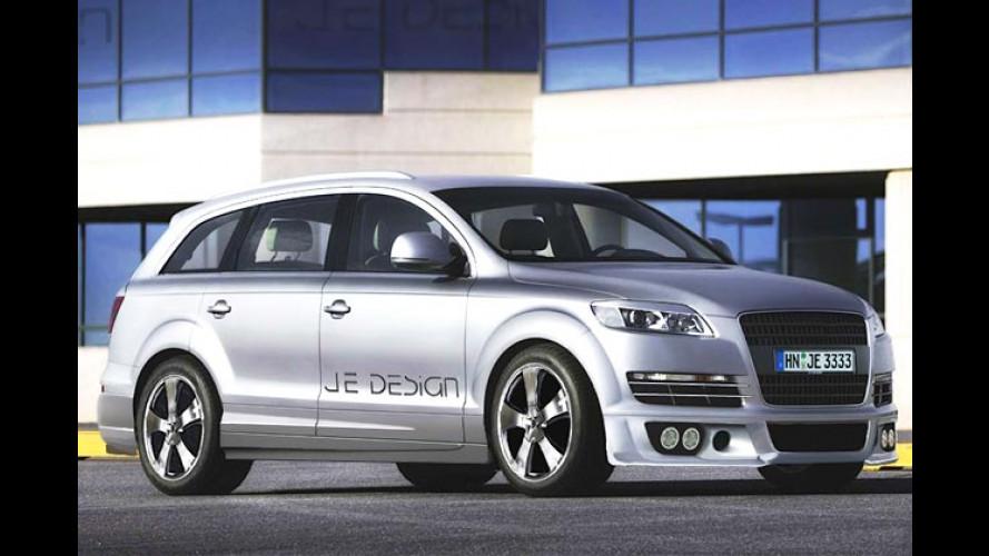 JE Design tunt den Audi Q7: Der Diesel bekommt 52 PS mehr