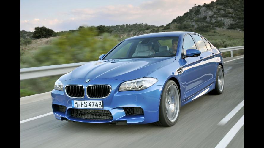 BMW prepara una M5 Diesel