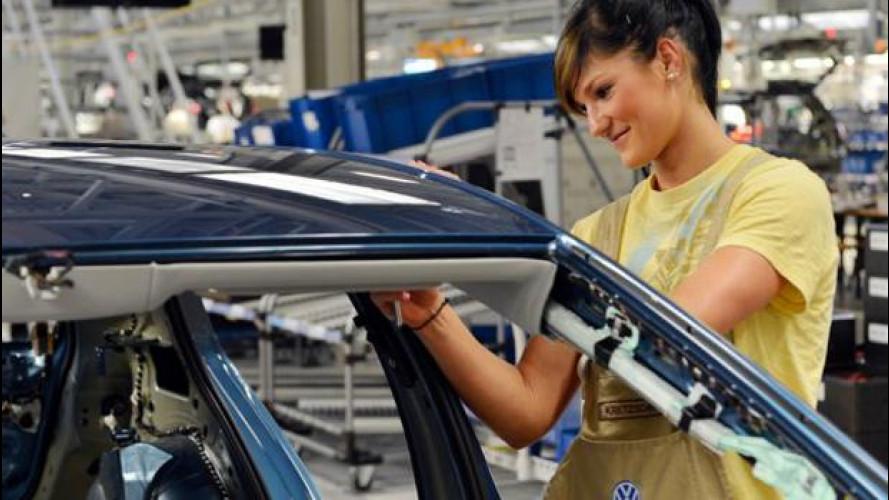 Volkswagen: in cinque anni creati 100.000 posti di lavoro