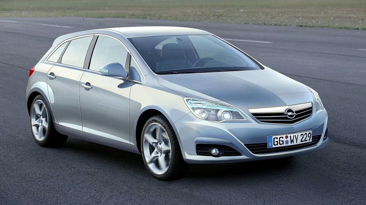 Opel Astra Illustration