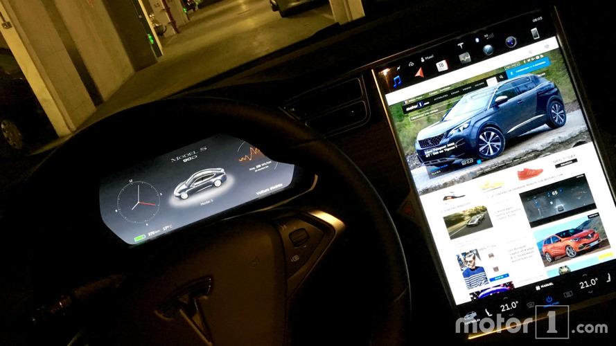 Une nouvelle version 8.1 pour les Tesla
