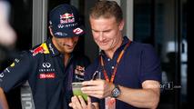 Daniel Ricciardo, Red Bull Racing with David Coulthard, Red Bull Racing and Scuderia Toro Advisor - BBC Television Commentator