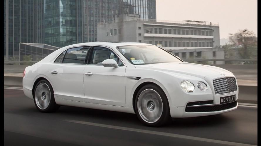 Bentley faz recall de 45 unidades no Brasil por risco de incêndio