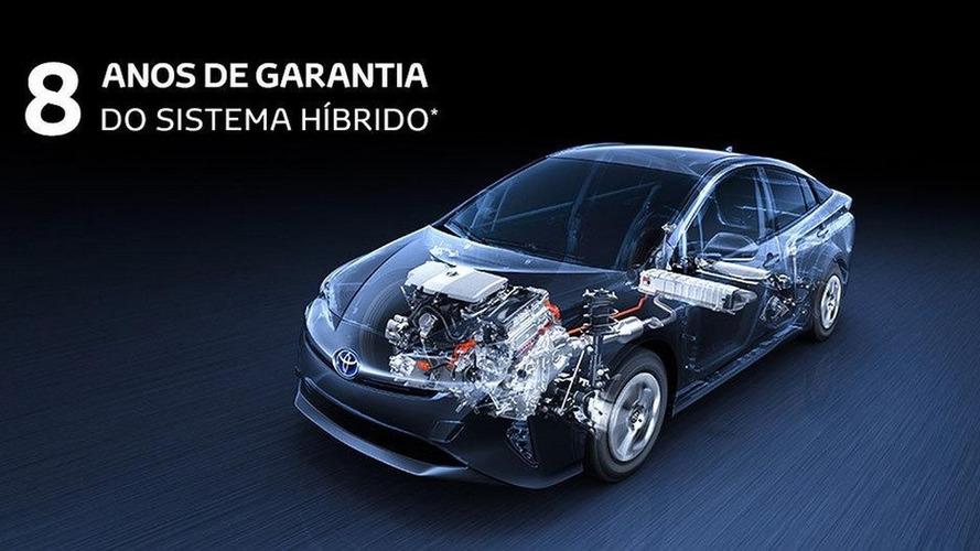 Toyota Prius ganha garantia de 8 anos para seu sistema híbrido