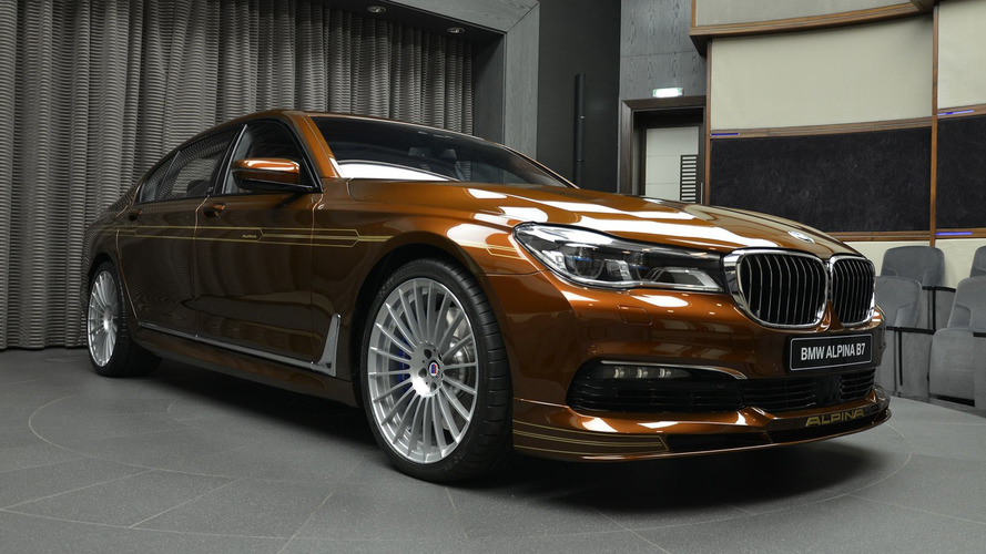 Alpina B7 detailed in 32 pics to prove not all brown cars are dull