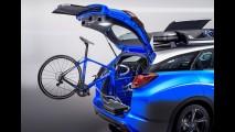 Pensada para os ciclistas, Civic Tourer Active Life estará em Frankfurt - veja fotos