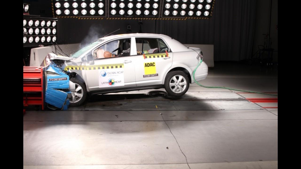 Renault Duster feito na Colômbia alcança quatro estrelas no LatinNCAP