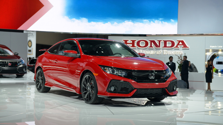 2017 Honda Civic Si revealed in prototype form