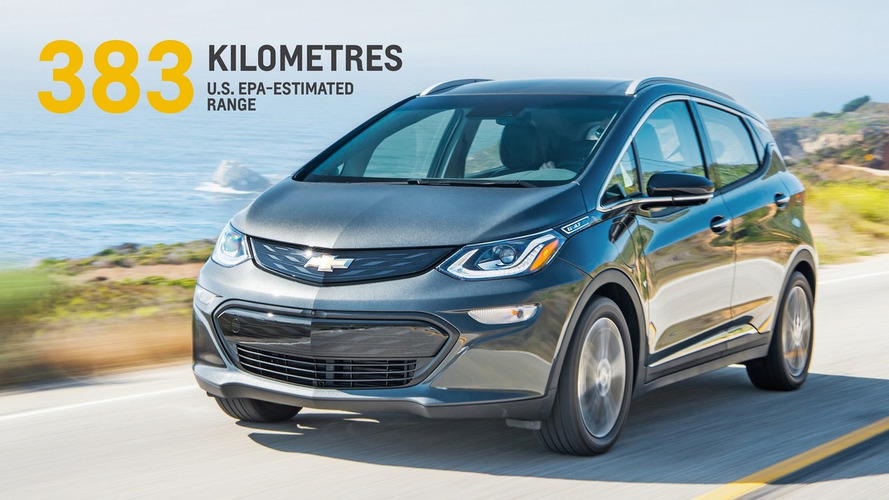 Chevrolet Bolt é eleito Carro do Ano na América do Norte