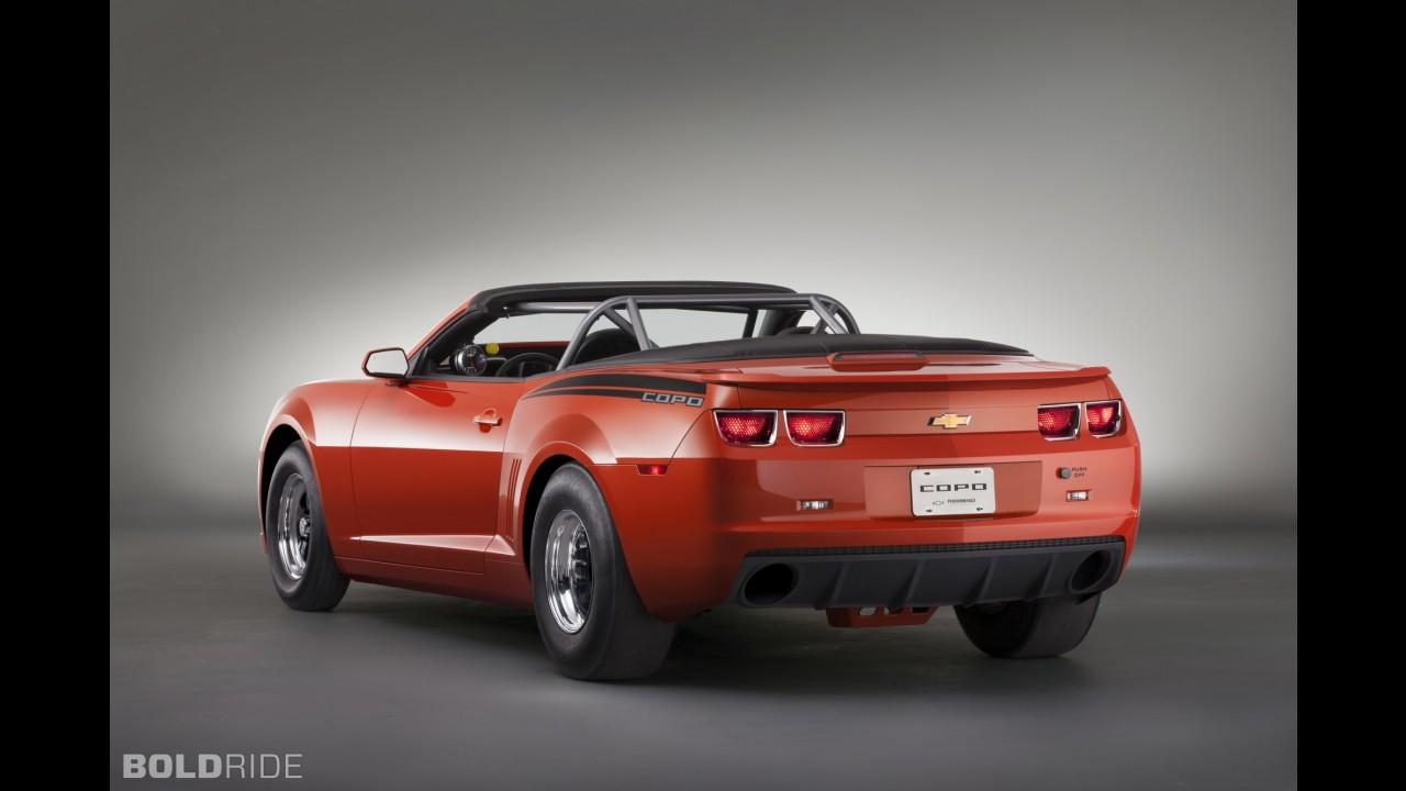 Chevrolet Inferno Orange COPO Camaro Convertible