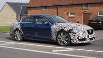 2012 Jaguar XF-R facelift spied testing