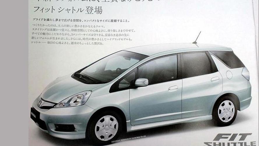 Honda Fit / Jazz Shuttle previewed