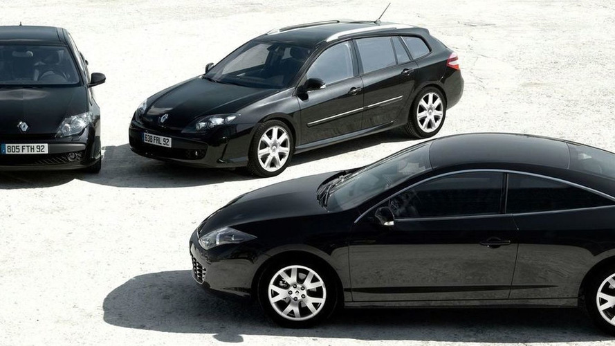 renault laguna coupe black edition announced. Black Bedroom Furniture Sets. Home Design Ideas