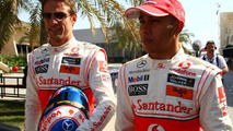 Jenson Button & Lewis Hamilton