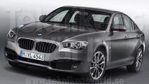2012 BMW 3-Series GT artist rendering