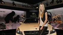 Mercedes-Benz SL 63 AMG Edition IWC with Brand Ambassador, Julia Stegner