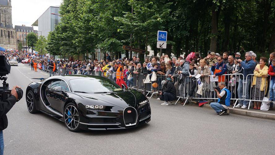 Bugatti Chiron is