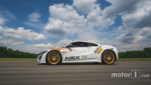 Acura NSX Time Attack 1