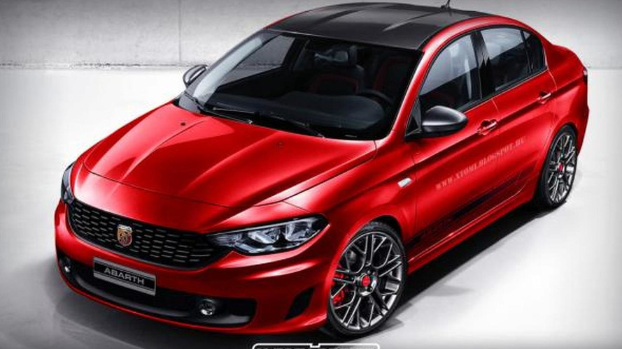 Fiat Aegea rendered as Abarth version