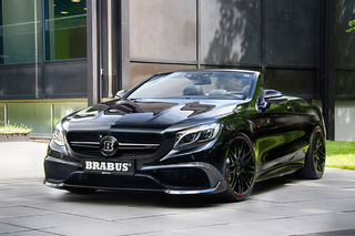 This Brabus Mercedes is the World's Fastest Four-Seat Convertible