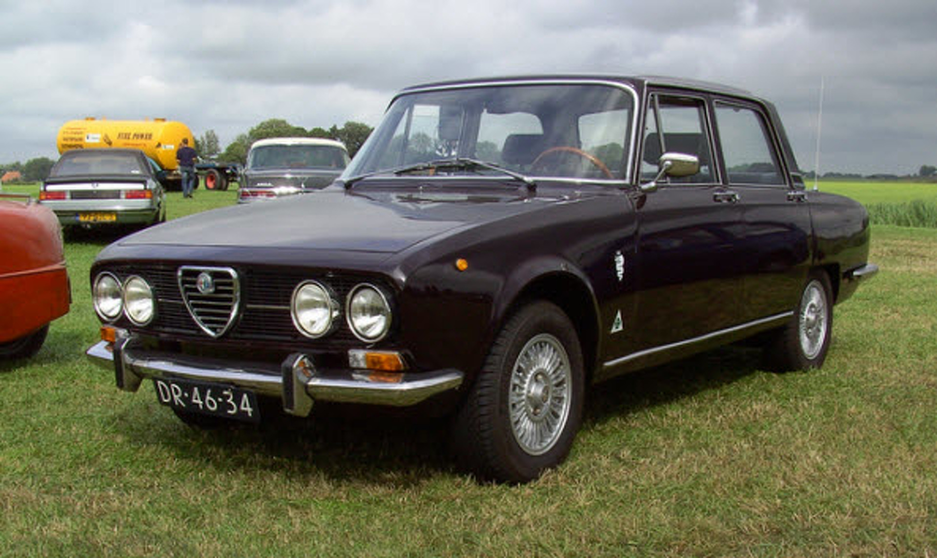 Assez Car of the Week: 1969 Alfa Romeo 1750 Berlina OC68