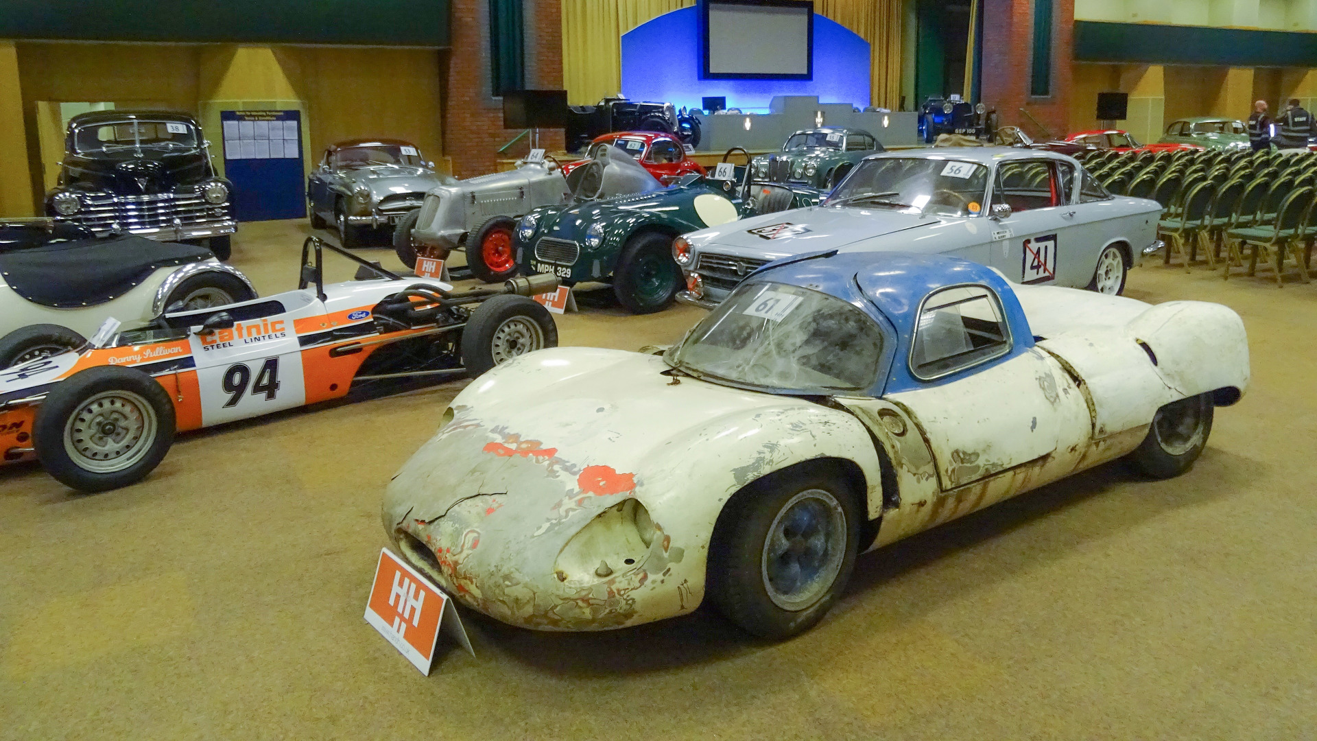 Barn Find British Race Car With Wood Chassis Sells For 105k At Auction