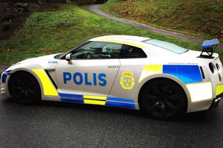 A Nissan GT-R Police Car is on the Loose