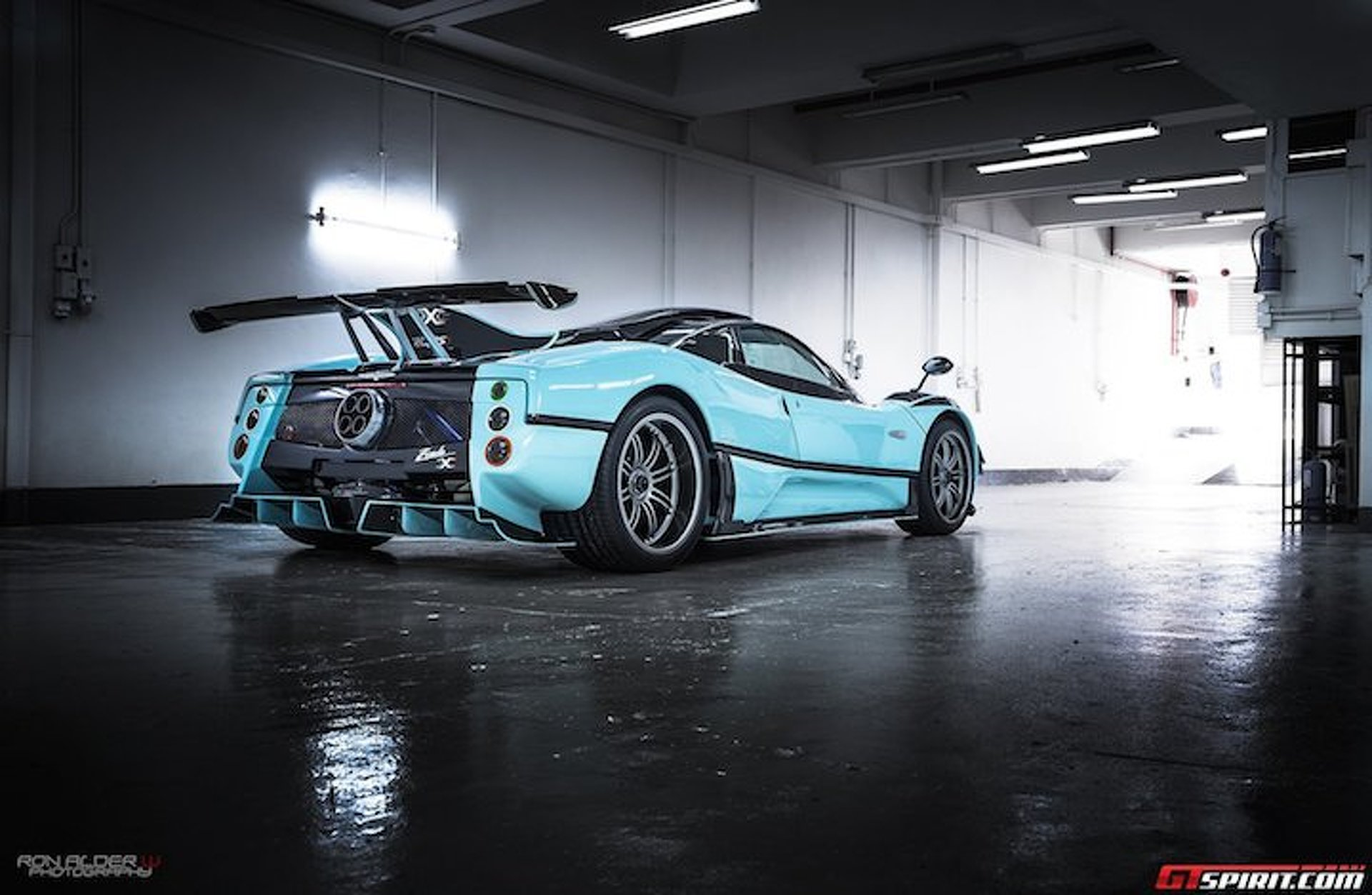 Oh Look, Pagani Built Another Special Edition Zonda