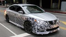 2017 Nissan Sentra NISMO spy photo