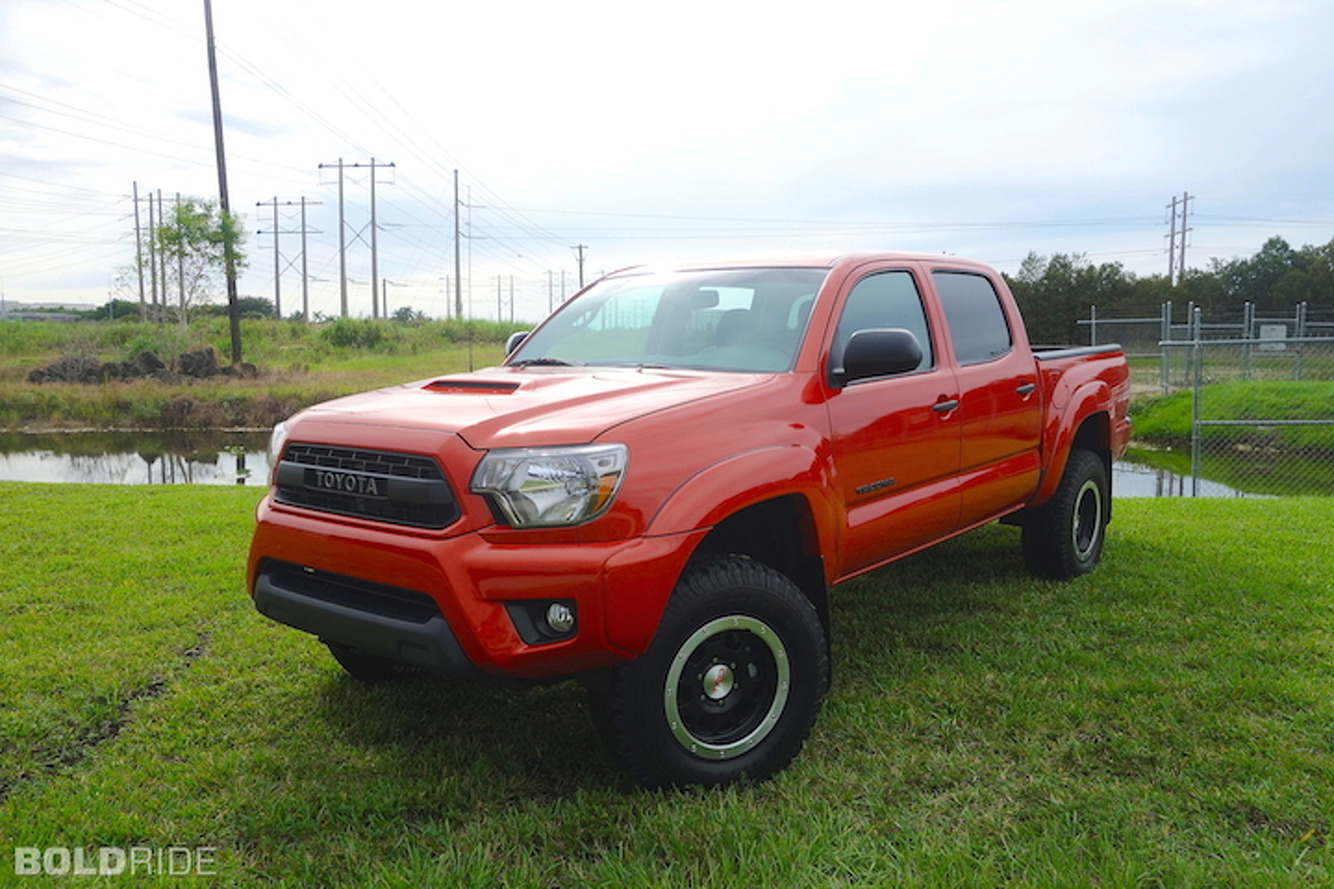 Toyota Tacoma TRD Pro Series Loves Playing in the Mud: Review