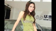 Le ragazze del Salone di Shanghai 2011