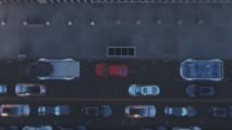 Il tunnel per auto sotto Los Angeles