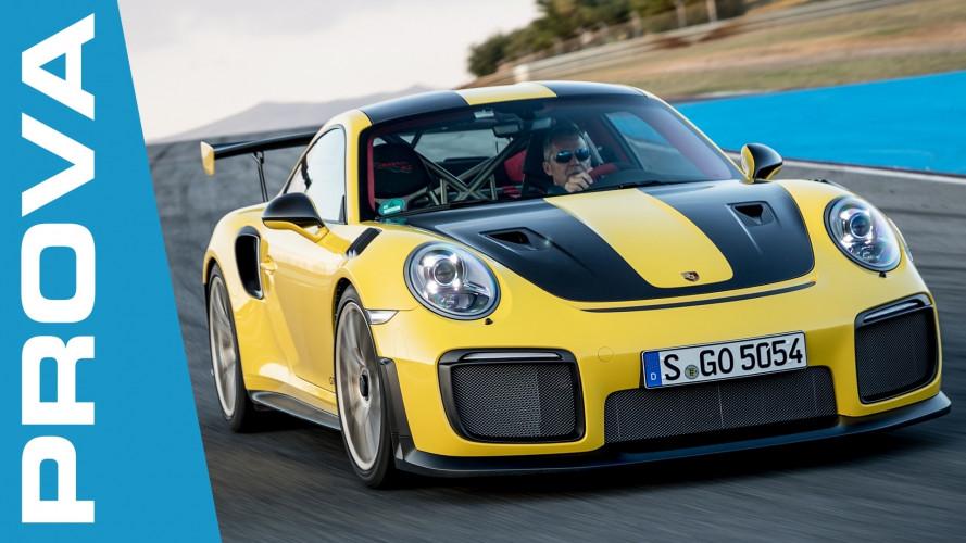 Porsche 911 GT2 RS, una prova delicatamente brutale