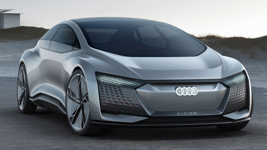 Salone di Francoforte: Audi Aicon concept, l'auto senza volante