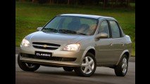 Chevrolet faz recall de Agile e Classic por risco de desprendimento das rodas