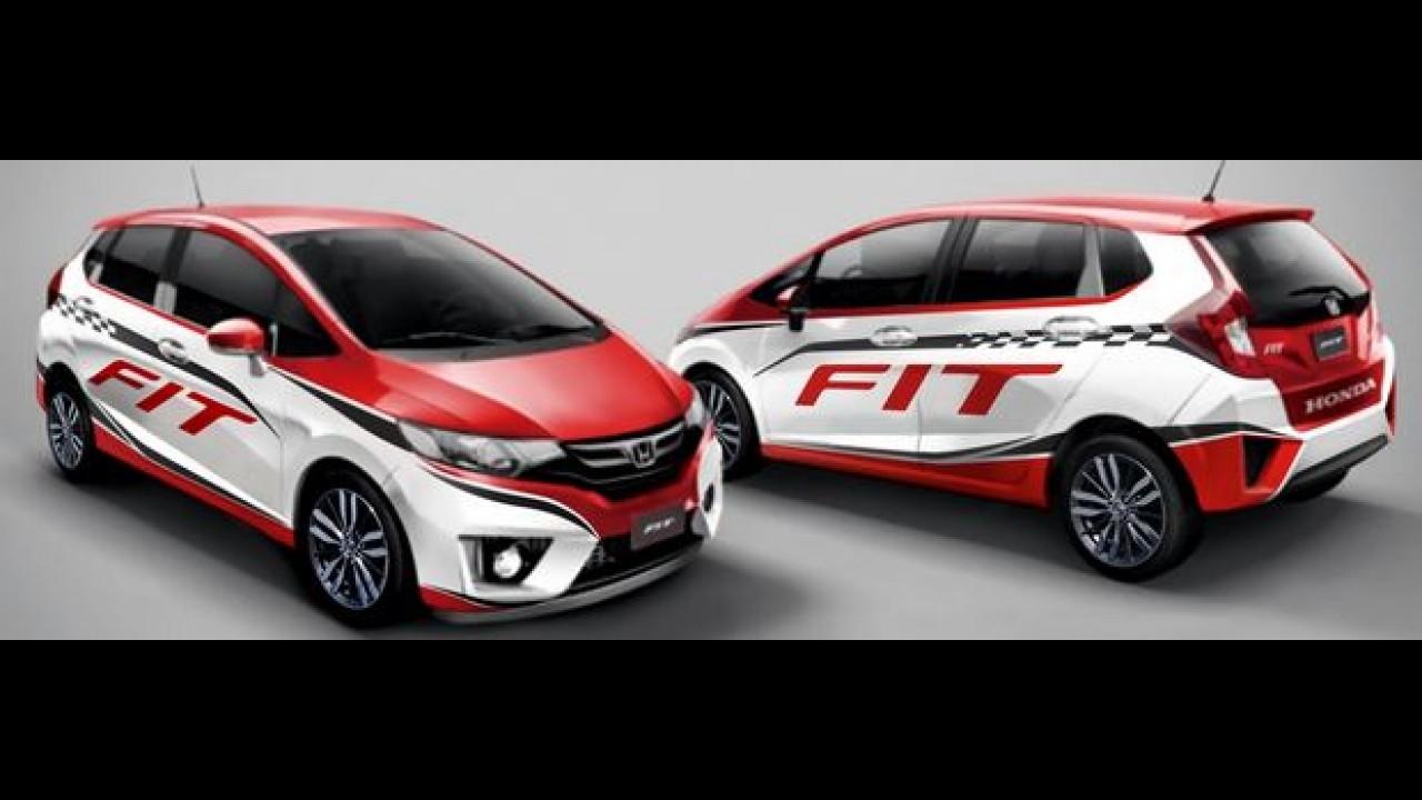 Novo Honda Fit vira Pace Car com motor 1.5 turbo de 221 cv