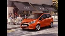 Ford divulga primeira imagem do Novo B-Max - Modelo recebe motor 1.0 Ecoboost Turbo