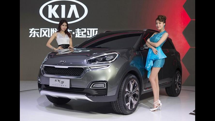 Kia KX3 é prévia de SUV compacto exclusivo para a China