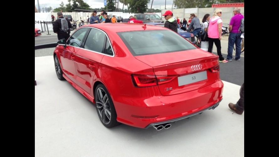Direto da França: Audi faz pré-estreia de S3 Sedan e RS7 em Le Mans