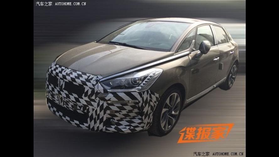 Flagra: Citroën DS5 vai ganhar um tapinha no visual ainda este ano