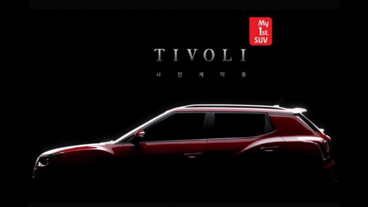 SsangYong Tivoli é arma sul-coreana para brigar com Renegade e EcoSport