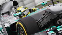 Nico Rosberg (GER) Mercedes AMG F1 W04