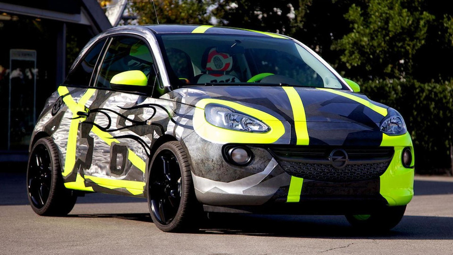 Opel ADAM by Valentino Rossi and Aldo Drudi