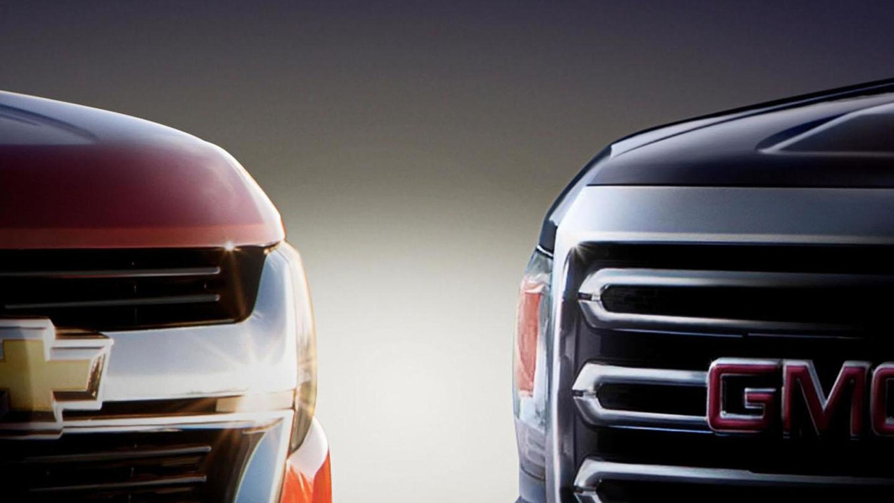 2015 Chevrolet Colorado & GMC Canyon teaser