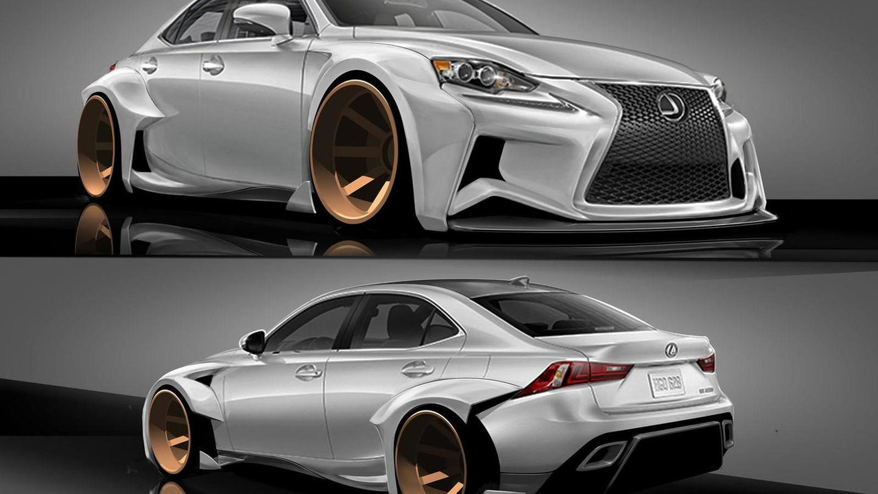 Lexus IS by Rob Evans for SEMA 21.8.2013