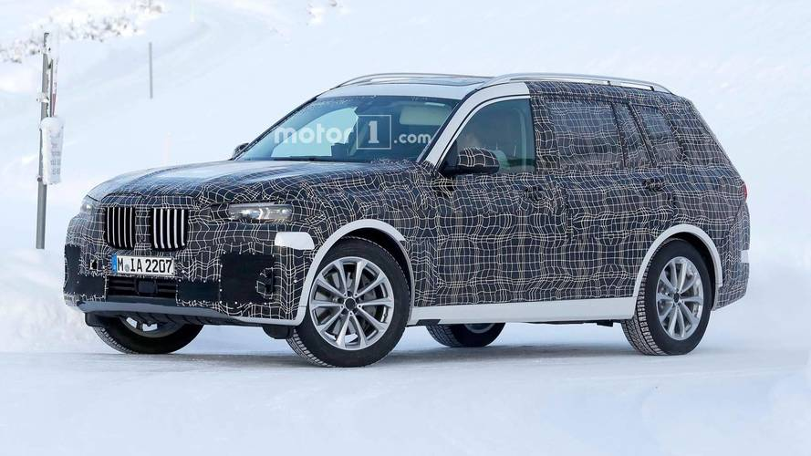 New BMW X7 SUV spotted testing far away from home