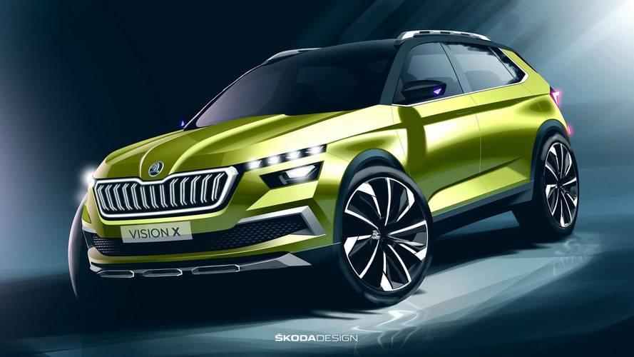 19 nouveautés en deux ans pour Škoda, le Vision X en 2020