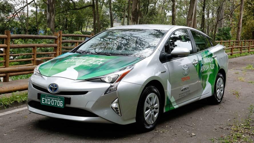 Toyota Prius flex percorre 1.500 km em testes de São Paulo a Brasília