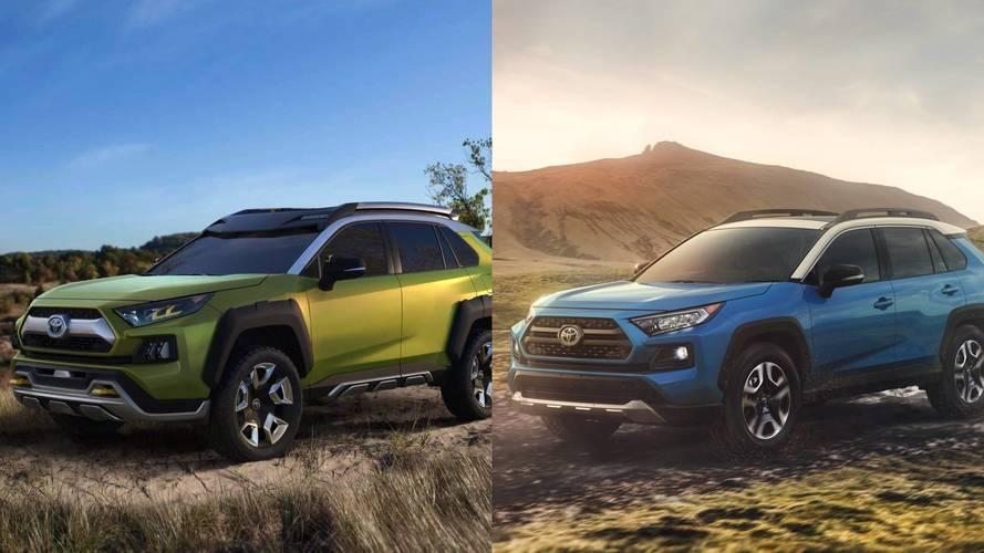 2019 Toyota RAV4, FT-AC konseptine ne kadar benziyor?
