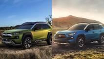 Comparativa Toyota RAV4 2018 vs. Toyota FT-AC